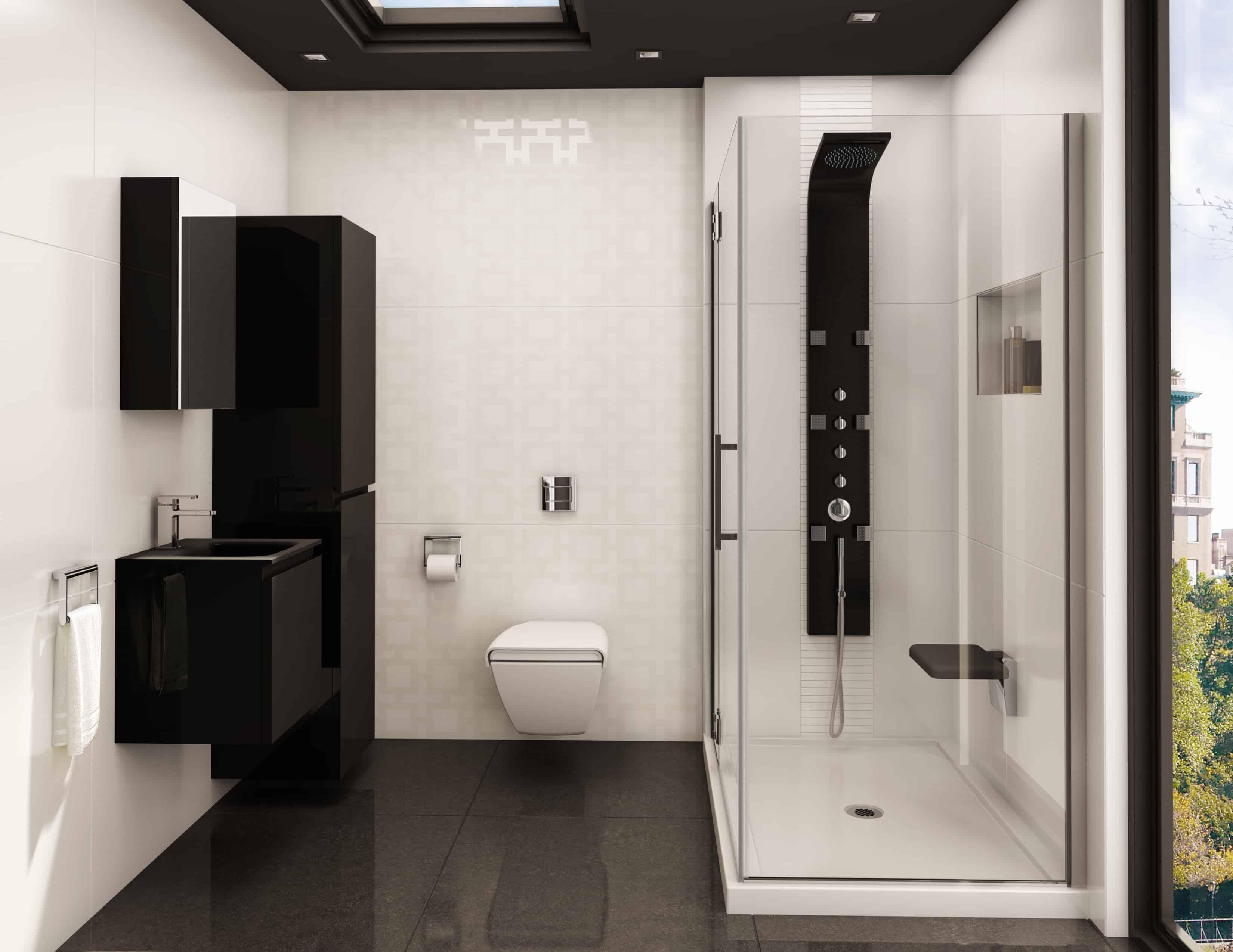 pierdeco aquamassage colonne de douche pd 850 s ss inox. Black Bedroom Furniture Sets. Home Design Ideas